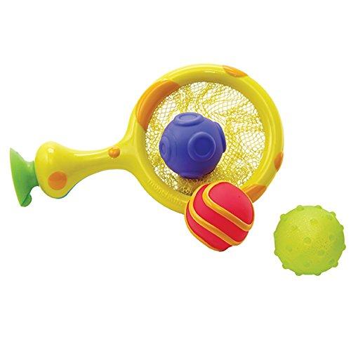 Munchkin - Scooper Hooper Fangnetz und Bälle Badespielzeugset, 4-teilig (12 Korb Net)