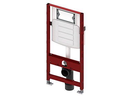 Tece Teceprofil-WC-Modul mit Geberit-Spülkast Bauhöhe 1120mm Nr. 9.300.011 90/110mm, 9300011