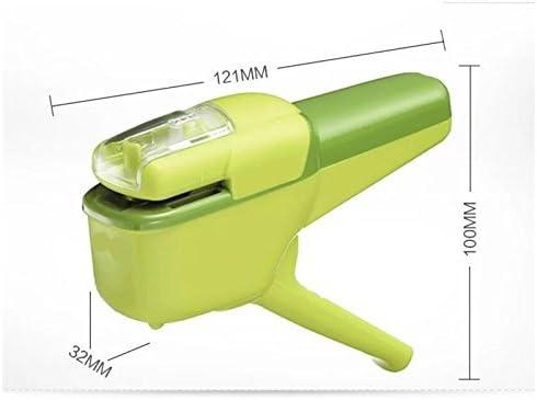Mental Stapler Creative sans aiguille aiguille aiguille à la main forme agrafeuse manuelle agrafeuse Stapleless agrafeuse pour enfant (vert) Huihuger B07H7G6YGT | Belle Couleur  fb0cad