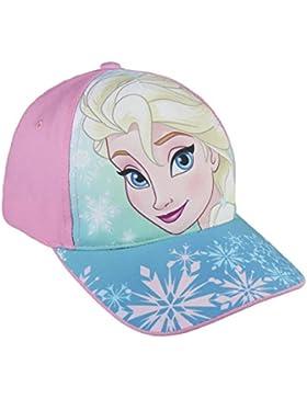 Disney Frozen 2200002848 Cappello Visiera, Cotone, Bambina, Multicolore