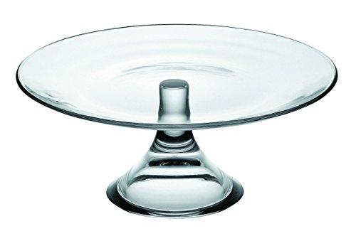 VIDIVI Vetri delle Venezie Banquet Plateau sur pied, verre, transparent