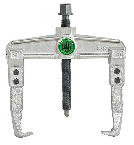 Preisvergleich Produktbild KUKKO 20-10 Abzieher zweiarmig Spannungstiefe 100mm Spannungsweite 25-120mm