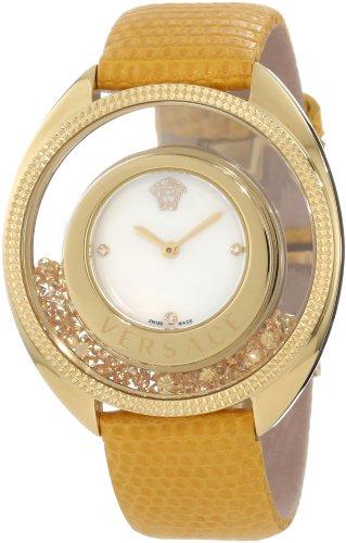 Versace 86Q721MD497 S585 Destiny - Reloj de Pulsera para Mujer, diseño Flotante, Color Amarillo