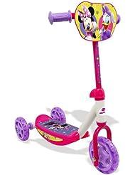 Smoby - 450145 - Vélo et Véhicule pour Enfant - Minnie trottinette 3 Roues