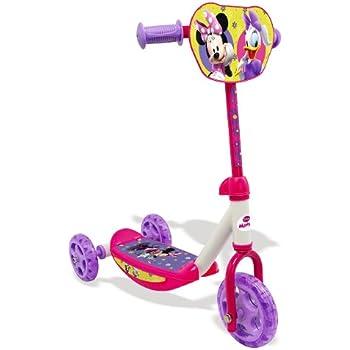 Smoby 450145 - Vélo et Véhicule pour Enfant - Minnie trottinette 3 Roues