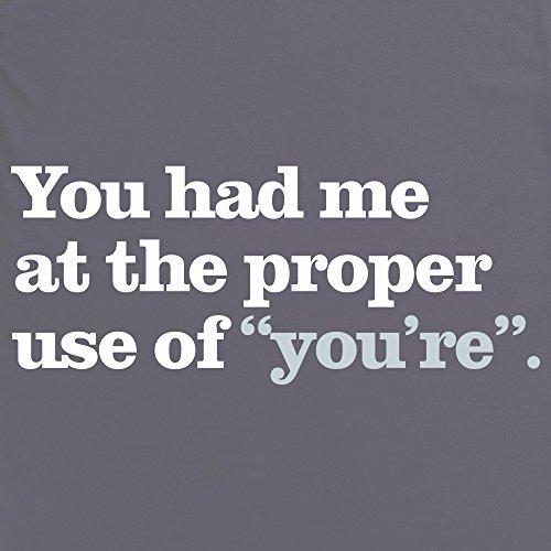 You Had Me T-Shirt, Herren Anthrazit
