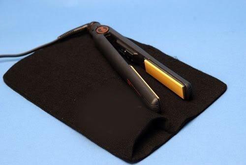 Funda para planchas resistente al calor de color negro