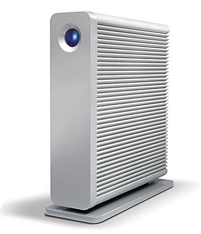 LaCie STGJ6000400 8,89 cm (3,5 Zoll) 6TB Externe Festplatte mit USB 3.0 aluminium