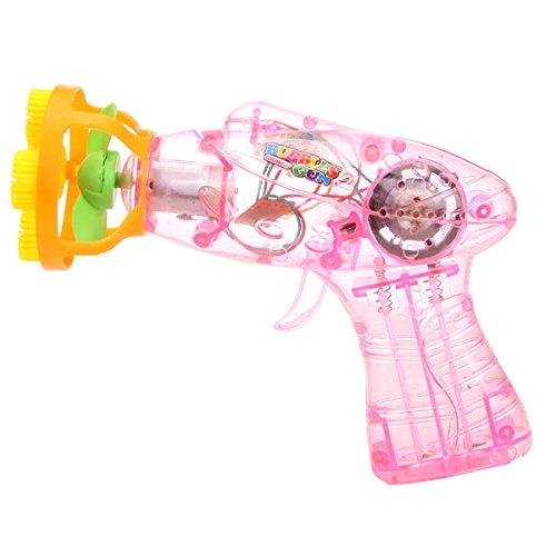 Bluelover Bunte Automatische Musik Seifenblasen Pistole Gebläse Kinder Im Freien Spielzeug (Freien Im Sauna)