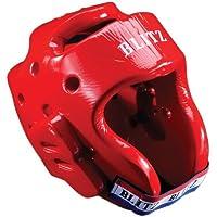 Blitz Dipped Foam Head Guard - Red, Small