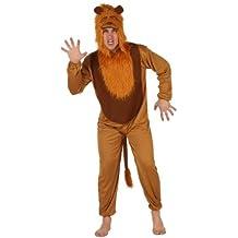 Atosa - Disfraz de león para hombre, talla M/L (73928)