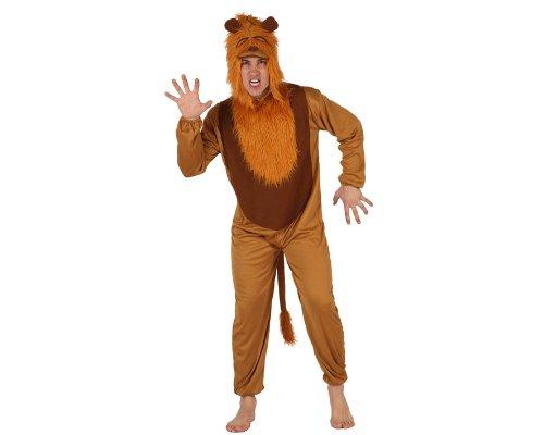 Imagen de atosa  disfraz de león para hombre, talla m/l 73928