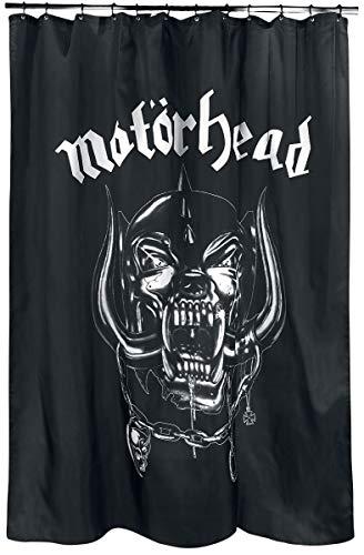 Motörhead Duschvorhang Shower Curtain INKL. Ringen für den Vorhang C