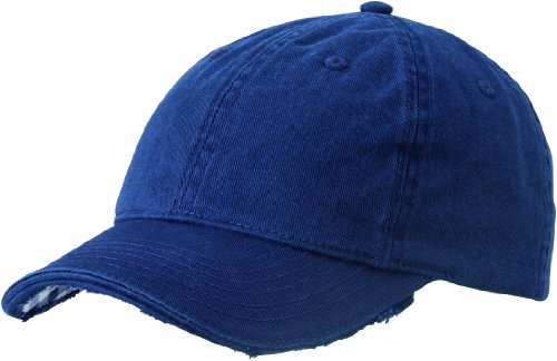 Myrtle Beach Cappello Club Vichy-Checked, Blu (navy/white), Taglia unica