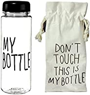 My Bottle with fabric bag