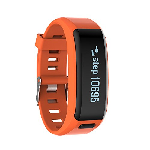 ★ Loveso ★-Smart Armband Bluetooth 4.0 Smart Intelligent Watch Sport Watch for iOS 8 or above Version and Android 4.3 or Higher Version_Orange