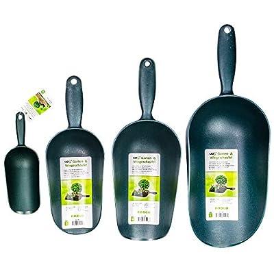 UPP Garten- und Wiegeschaufel   LEBENSMITTELECHT ideal als Futterschaufel, Schütten für Mehl und Zucker   Schaufel für Erde, Samen und Dünger