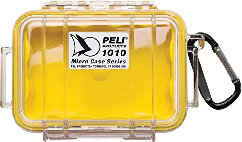 Peli 1010 mit Innen - Gelb, Außen - Klar