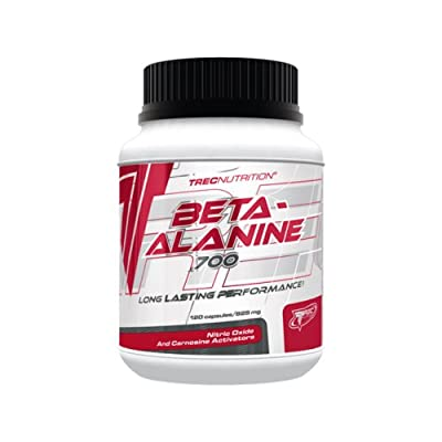 Beta-Alanine 700 - 120 capsules - 30 portions - Long Lasting Performance -Trec Nutrition