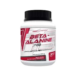 Beta-Alanine 700 - 120 capsules - 30 portions - Long Lasting Performance -Trec Nutrition