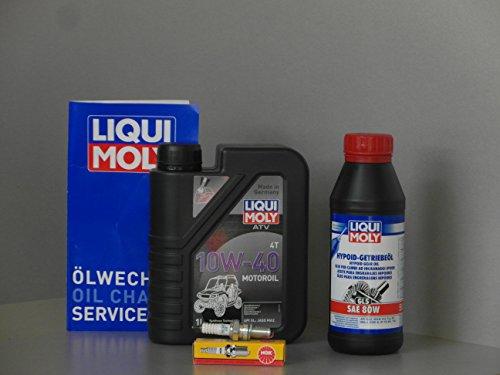 Wartung - Set ATV Quad Kymco MX 150 MXer 150 MXU 150 Service Inspektion Kerze Öl