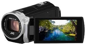 JVC GZ-EX510BEU Camcorder (2,5 Megapixel, 38-fach opt. Zoom, 7,6 cm (3 Zoll) Touchscreen) schwarz