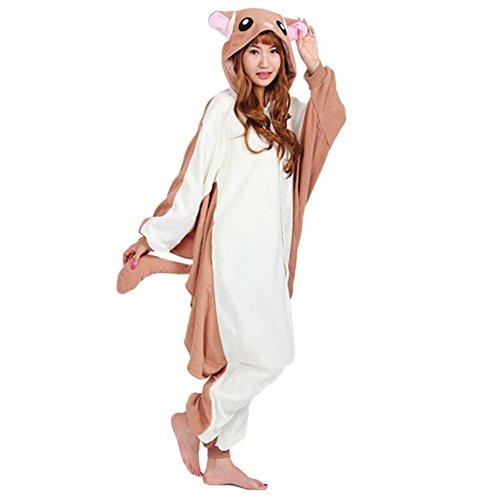 Honeystore Jumpsuit – Pyjama Cosplay Fliegendes Eichhörnchen - 3