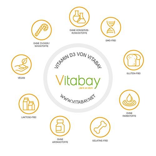 Vitamin D3 Depot 20.000 I.E. (120 Vegane Tabletten) - 4