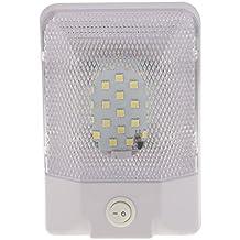 Gazechimp Llevó Cúpula Luz de Techo Lámpara Accesorio de Lluminación para Autocaravanas RV Camper Remolque