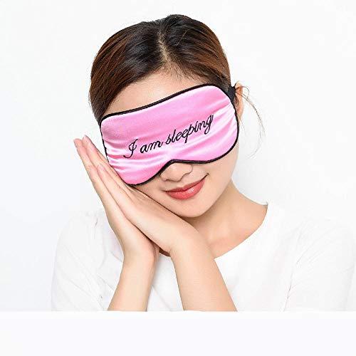 Augenmaske Schlafbrillen Erwachsene Sonnenbrillen Schlafseidenbrillen Männer Und Frauen Luftfahrt Mode Schlaf Schlaf Atmungsaktiv Verstellbar@Ich Schlafe