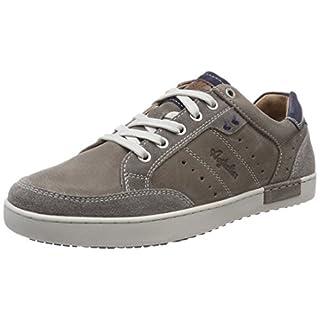 Australian Herren Scott Leather Sneaker, Grau (Grey-Blue), 44 EU