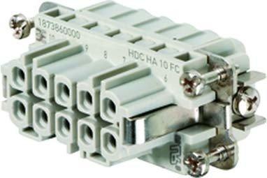 WEIDMULLER 1873860000 - CONECTOR HDC HA 10 FC
