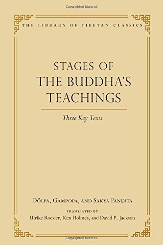 Stages of the Buddha's Teachings: Three Key Texts (Library of Tibetan Classics) by Dolpa (2015-12-29)