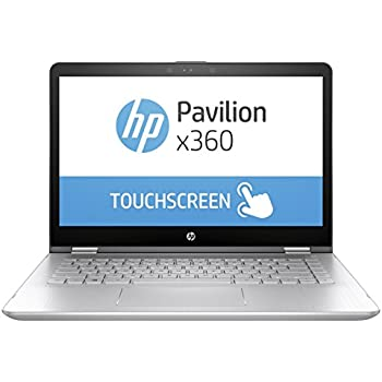 HP 14-ba073TX 2017 14-inch Laptop (Core i5/8GB/1TB/Windows 10 Home/2GB Graphics), Natural Silver