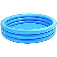 INTEX - Piscina hinchable 3 aros azul 147 x 33 cm - 288 litros (58426)