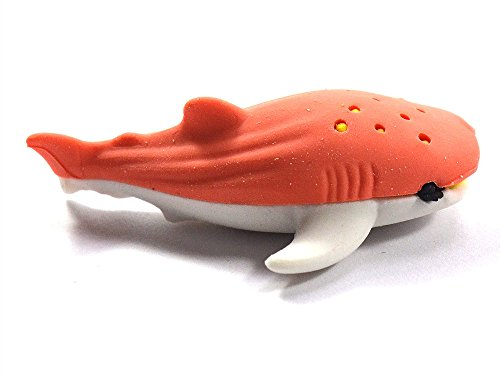 1 x Radiergummi Hai Wal Meer Tier Marine Kit zurück nach Hause niedlich Spaß Kid Desktop Tier...