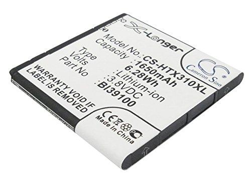 Cameron Sino–Batteria ricaricabili per HTC Sensation XL (1650mAh/6.28Wh)