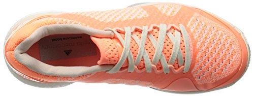 adidas Damen Asmc Barricade Boost Tennisschuhe, Schwarz / Weiß Orange / Weiß (Ultrab / Blatiz / Nadecl)