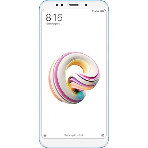 Xiaomi Redmi 5 Plus Smartphone da 64 GB, Azul [Versão Global]