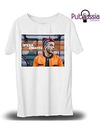 Publiassia Stamperia Sfera Ebbasta T- Shirt 2 Hip Hop Rap Maglietta Musica  Concerto Idea Regalo f08d613d7a47