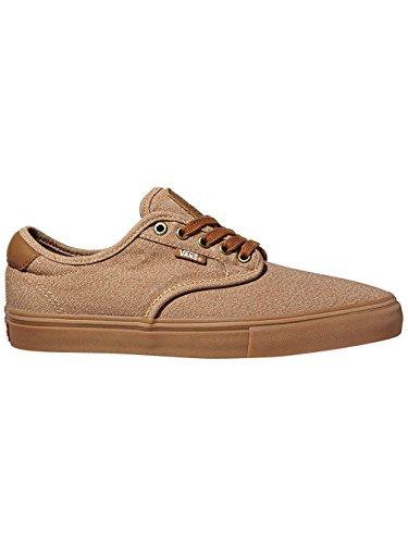 Herren Skateschuh Vans Chima Ferguson Pro Skateschuhe (covert twill) khaki/gum