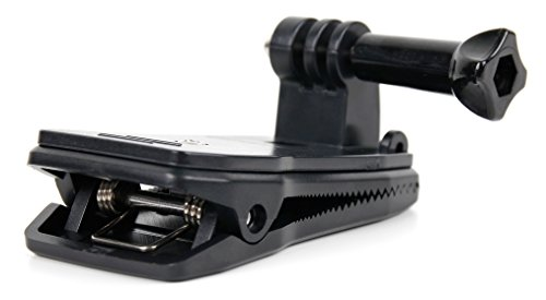 Preisvergleich Produktbild 360 Grad drehbare Befestigungsklammer für Rucksäcke usw für GARMIN Virb 360, Virb Ultra 30, Virb XE und Virb X Action Kameras