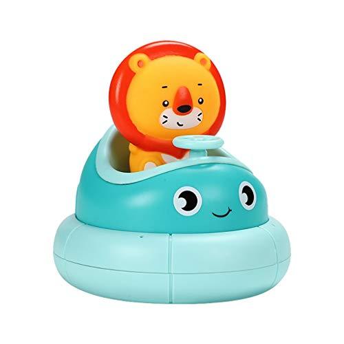 MA87 Badespielzeug Tier Regen Wasserfall Badewanne Spielzeug Kinder Geschenk (Blau)