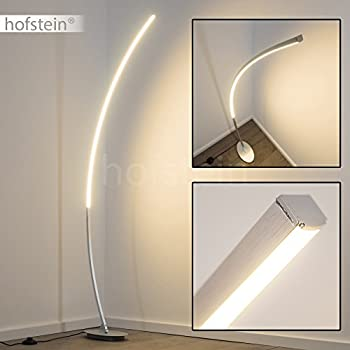 Lampada da terra led design minimale lampada a stelo for Lampada salotto