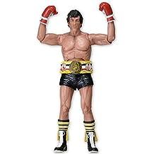 Figura de Acción Rocky 40th Anniversary - Rocky con cinturón de campeón