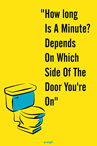 """""""Which Side of The Door You'r On"""" Small Poster by Seven Rays for Room/Home / Office Size 12 X 18 inches"""