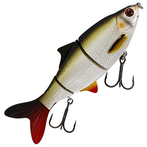 Westin Ricky the Roach HL/SB - Swimbait Wobbler zum Spinnfischen, Hechtköder zum Spinnangeln, Hechtwobbler, Hardbait für Hechte, Farbe:Lively Roach;Länge/Gewicht/Laufverhalten/Tauchtiefe:15cm / 35g / suspending / 0.1-0.5m