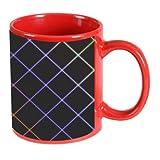 Printland Red Coffee Mug 350 - ml PMR1518 best price on Amazon @ Rs. 299