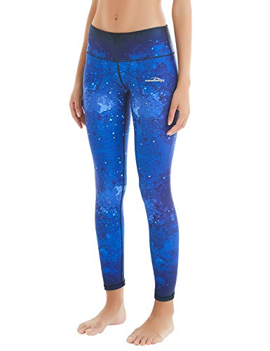 Leggings Yoga Hosen-Fitnesshose, Sk-nachthimmel (Lang), Gr.-M ()