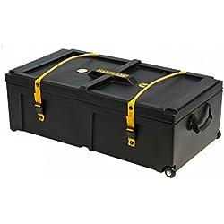 """Hardcase 36"""" x 18"""" x 12"""" Hardware Case with Wheels"""